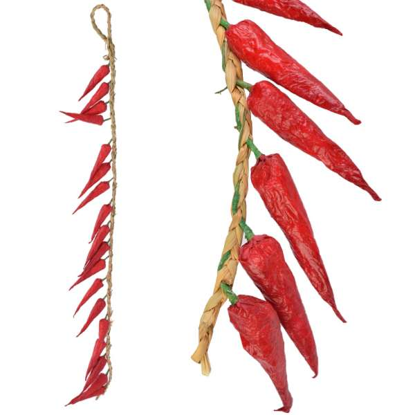 связка мелкого красного перца декоративного