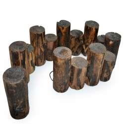 Заборчик декоративный деревянный из брусков 15х85