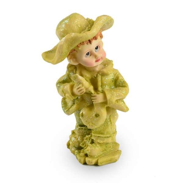 Фигурка статуэтка девочка 13х6х5 см в салатовая