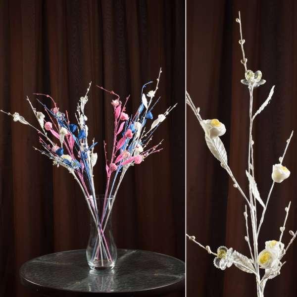 цветы иск. Китайская розочка на ветке