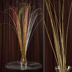 гілка декоративна з золотими блискітками (1упаковка)