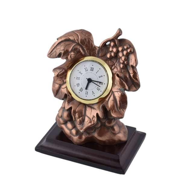 годинники настільні Виноградна лоза латунні, 13см