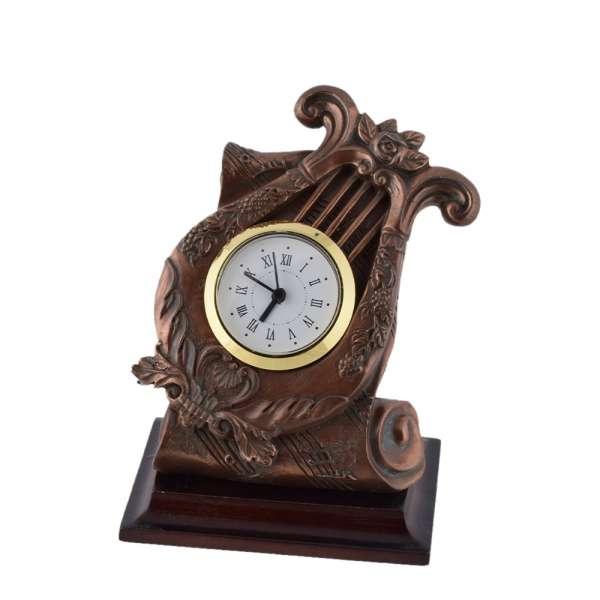 часы настольные латунные