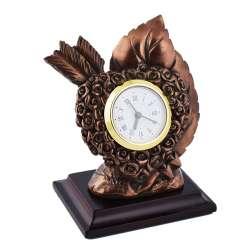 годинники настільні Про серце латунні, 13см