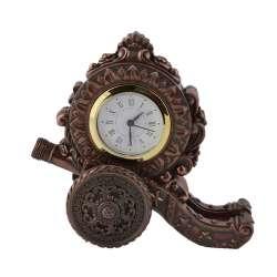 годинники настільні Гармата латунні, 16см