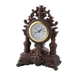 годинники настільні Корона латунні, 16см