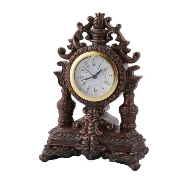 часы настольные Корона латунные, 16см