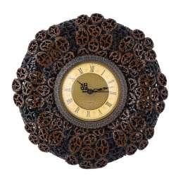 годинник круглі настінні під горіховий зріз, d 30