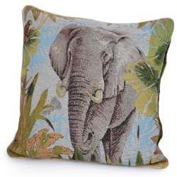 Наволочка гобеленовая 45х45 см Слон