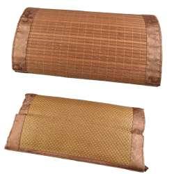 Подушка антистресс с травами 30х50 см из ротанговой пальмы и бамбука