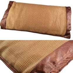 Подушка антистресс с травами 30х50 см из ротанговой пальмы