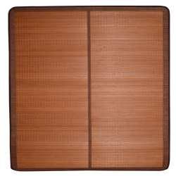 Покривало циновка бамбук 180х195 см розкладне не лакованої коричневе