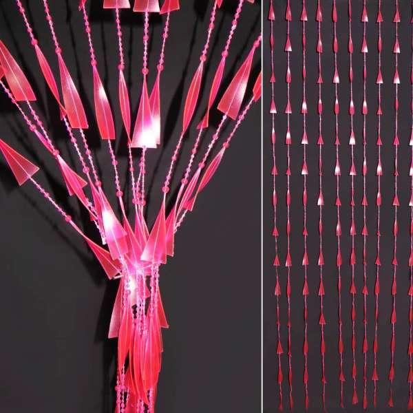 декоратив. штора спираль с бусинками (MZ 31)
