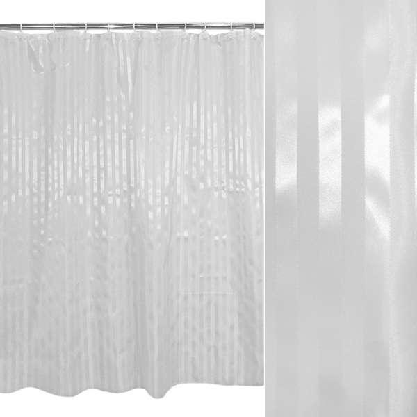 штора д/ванной комнаты белая, 178х183