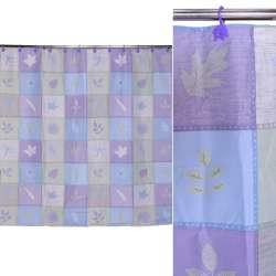 штора д / ванної кімнати квадратами в асортименті, 178х183