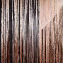 Штора ниточная 300 х 290 см персиковая светлая (вес 0,865 кг)