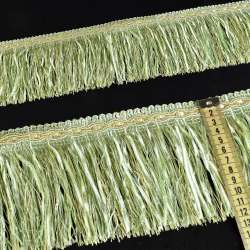 бахрома салатова з атлас. стрічкою (в.825г)