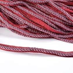 Кант-шнур сиреневый, диаметр 0,9см, тесьма 1,5см