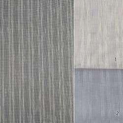 116639 тюль сетка лен полосы