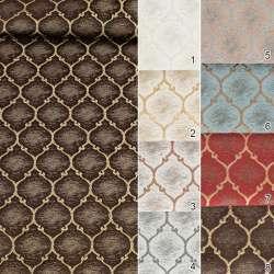 3400 Жаккард портьерный марокканский узор
