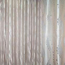 Атлас жакард з метаниткою хвилі