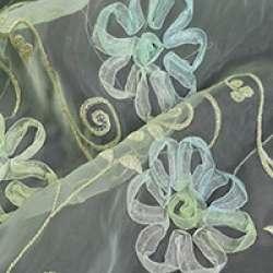 Органза з вишивкою шнур, тасьма